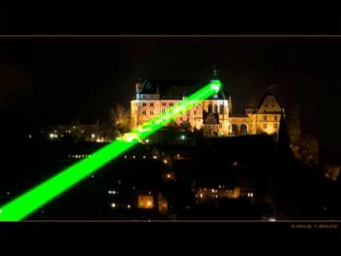 Lichtkunst Light Art Mind Blowing 20 Mile Outdoor Laser Beam
