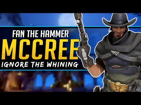 Overwatch McCree and Fan the Hammer - Use it More!