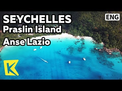 【K】Seychelles Travel-Praslin Island[세이셸 여행-프레슬린]앙스 라지오/Anse Lazio/Granite/Guinness Book
