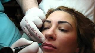 Tatuaj buze contur http://www.machiajtatuaj.ro