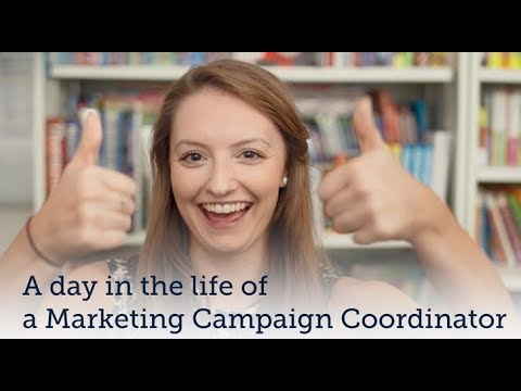 A day in the life of a Marketing Campaign Coordinator