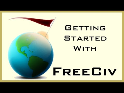 Freeciv web Tutorial - Getting Started / How to Play