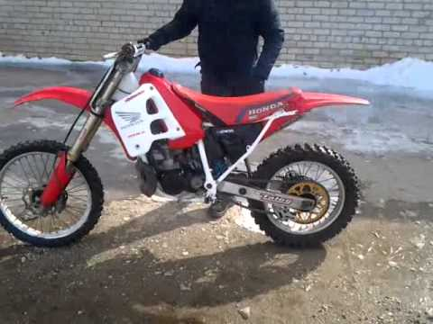 honda cr 250 1991 after rebuild youtube. Black Bedroom Furniture Sets. Home Design Ideas
