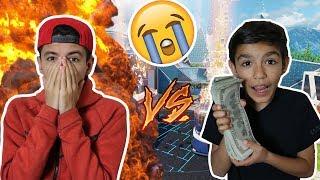I Lost $500? Black Ops 3 1v1 Against Little Brother! (I RAGED)