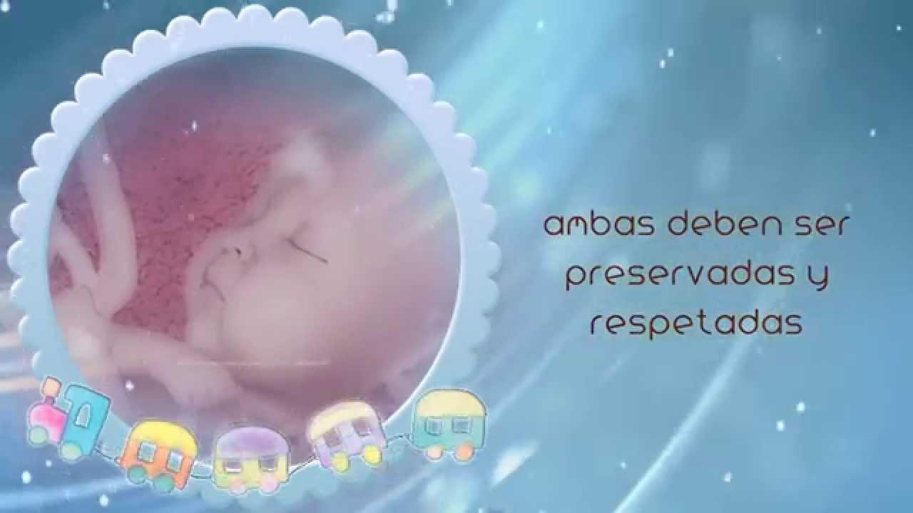 25 De Marzo Día Del Niño Por Nacer Youtube