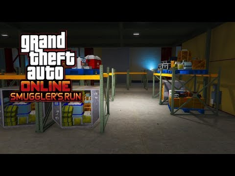 GTA 5 Online Smugglers Run CEO Tutorial - How To Use NEW Hangar To Make Millions!