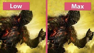 Dark Souls 3 – PC Low vs. Max + Details Graphics Comparison [Review Version]