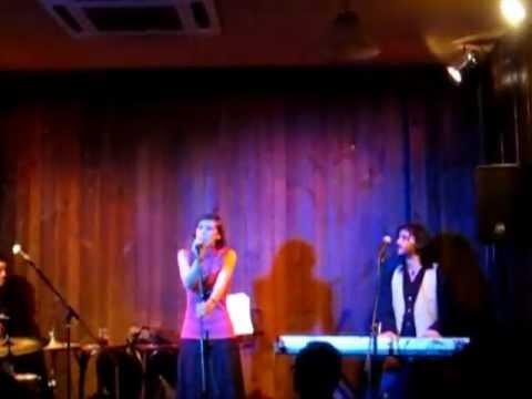 Irene Miller, Pablo Serrano, Pau Alvarez Santacatalina. Jazzville Café 02.02.2013