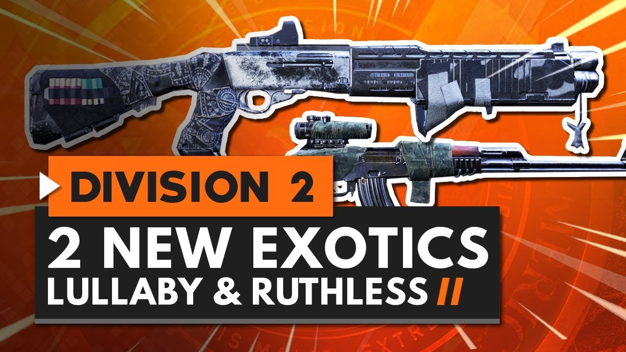 Division 2 exotic weapons list