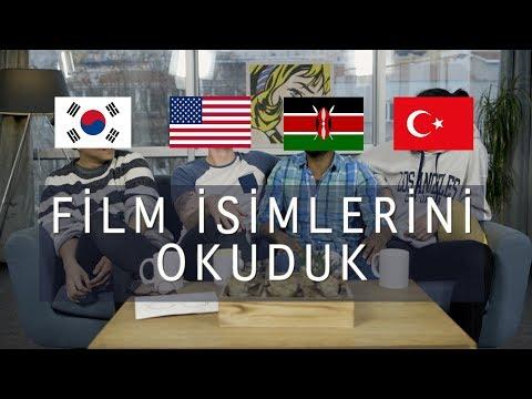 4 FARKLI DİLDEN FİLM VE KARAKTER İSİMLERİNİ OKUDUK   3 Yabancı 1 Türk #3
