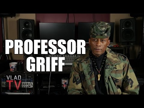 Professor Griff on Flavor Flav Doing Crack During Anti-Crack Music Video