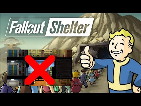 Fallout Shelter Online | How To Move Room, Split, Reorganize, Arrange Recently Build! GAMEPLAY 2020