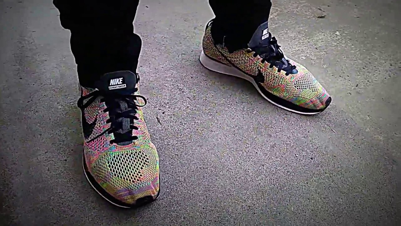 Nike flyknit racer multicolor 3.0 review