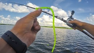 bass fishing off the bank   new lures tips