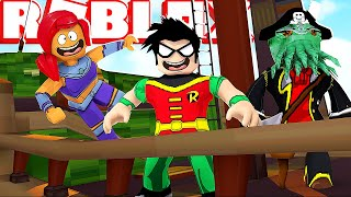 Teen Titans Go *Pirates of The Caribbean* | Roblox