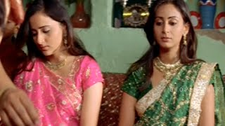 Roller Raghu, Chithram Basha Engagement Comedy - Hyderabad Nawabs Movie Scenes