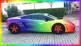 Racing In My Rainbow Lamborghini! - Need For Speed