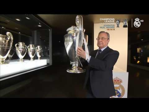 Florentino Pérez coloca La Duodécima en las vitrinas del Real Madrid
