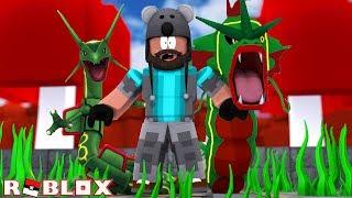 RAYQUAZA (KARP)!!!!!!!!! | Pokémon Brick Bronze [#86] | ROBLOX
