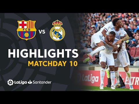 Resumen de FC Barcelona vs Real Madrid (1-2)