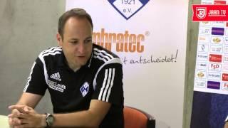 Pressekonferenz nach dem 7.  Spieltag beim FV Illertissen