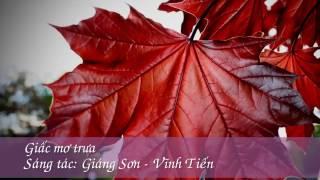 Karaoke - beat G - Giấc mơ trưa - Quang Long