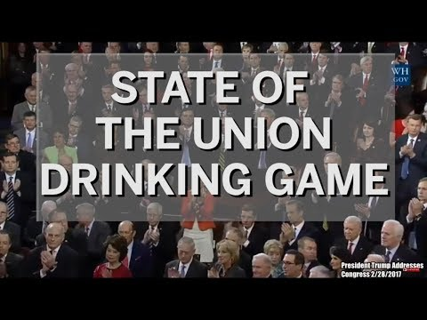 The State of the Union Drinking Game