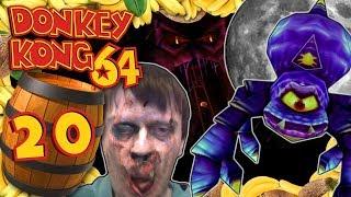 DONKEY KONG 64 🍌 #20: Zombies, Gruselbahn & eklige Spinnenkönigin