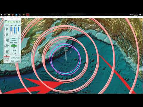 3/28/2018 -- Earthquake Update -- New M5.0 cluster develops + West Coast USA slow slip update