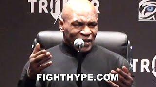 "MIKE TYSON IMMEDIATE REACTION TO ROY JONES JR. DRAW; KEEPS IT REAL ON ""KICK BUTT"" PERFORMANCE"