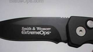 Video Smith & Wesson Extreme Ops Auto Conversion Knife, Tactical Black Plain Blade sw50b download MP3, 3GP, MP4, WEBM, AVI, FLV September 2017