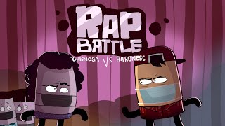 RAP BATTLE: CHISMOSA VS. RARONESC (Pinoy animation)