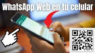 ?Cómo ABRIR FACIL WHATSAPP WEB en el celular? (iOS/Android)
