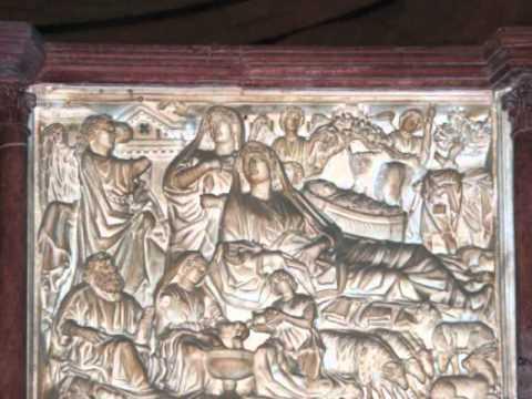 Coelius Sedulius, A Solis Ortus Cardine, Niccolò Pisano