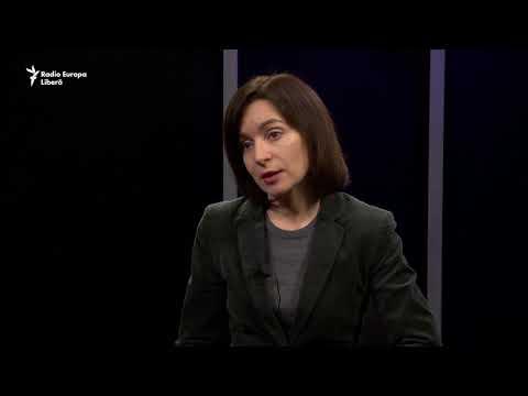 "Maia Sandu: ""Statele Unite și noi ne dorim un dialog strategic"""