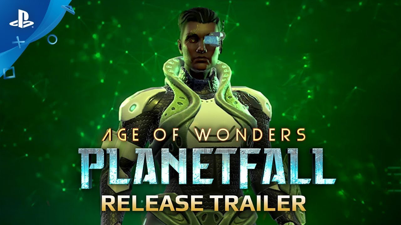 Age of Wonders: Planetfall - Release Trailer | PS4