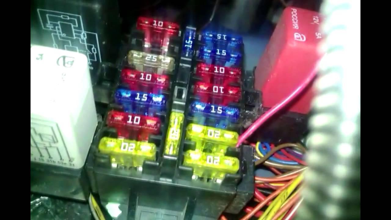 схема отопления дэо матиз с акп