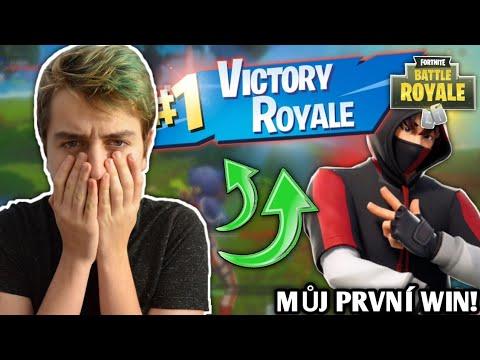 Můj PRVNÍ WIN na VIDEU !😱🤩• FORTNITE  CZ/SK | Jeniik