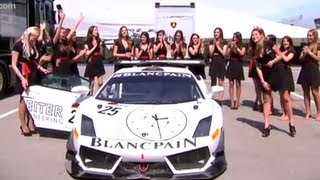 GT1-LIFE - How Many Girls Can You Get in a GT1 Lamborghini
