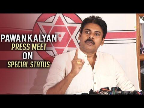 Pawan Kalyan Press Meet on AP Special Status   Jana Sena   TFPC