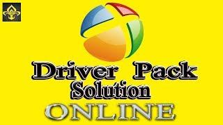 Установка драйверов Driver Pack Solution