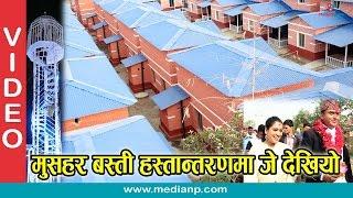 मुसहर बस्ती हस्तान्तरणमा  जे देखियो  Dhurmus Suntali  Musahar basti Bardibas Mahottari | Medianp.com