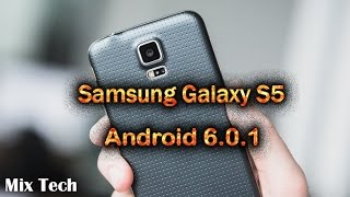 Samsung Galaxy S5 Android 6.0.1 update first look