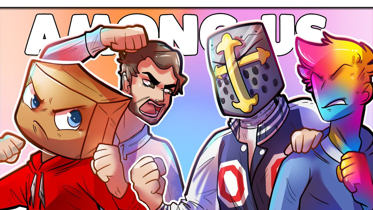 When Among Us Gets HILARIOUS - GOONS VS Misfits