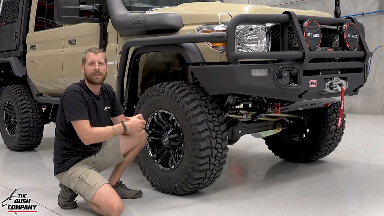 79 Series - Touring Weapon by Outback Customs - The Bush Company