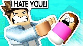 WORST FATHER EVER IN ROBLOX