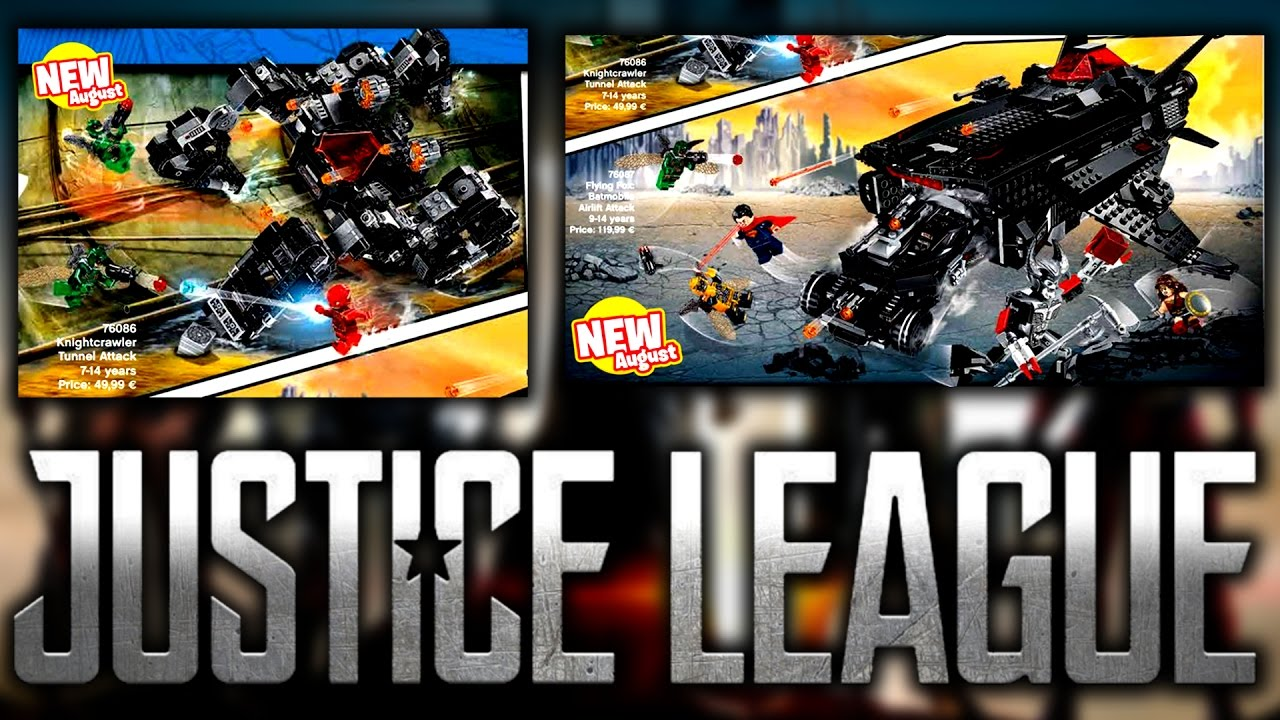LEGO JUSTICE LEAGUE OFFICIAL SETS & ANALYSIS!!! - YouTube