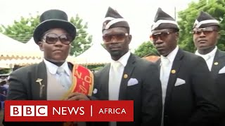 Ghana's dancing pallbearers: life after becoming THE meme of Covid-19 - BBC Africa