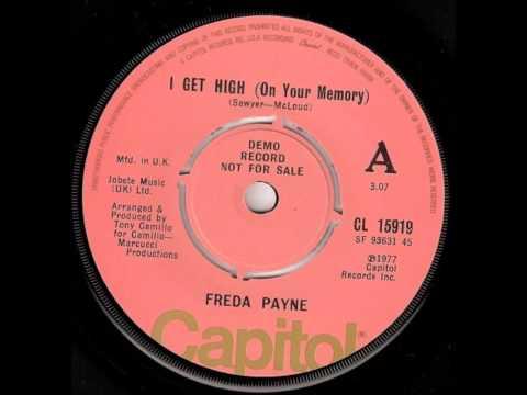 Freda Payne .   I get High on your memory .  1977.