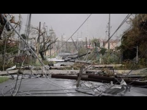 US Army Reserve general on Puerto Rico hurricane damage